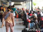 Boarding area, Stasiun Gubeng Baru