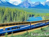Kereta wisata di Kanada
