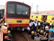 KRL commuter line anjlok